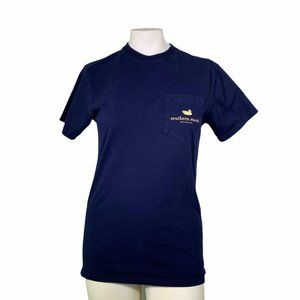 Southern Marsh Cocktail Collection Navy Blue Top S